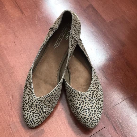 Toms Shoes | Toms Jutti Suede Leopard